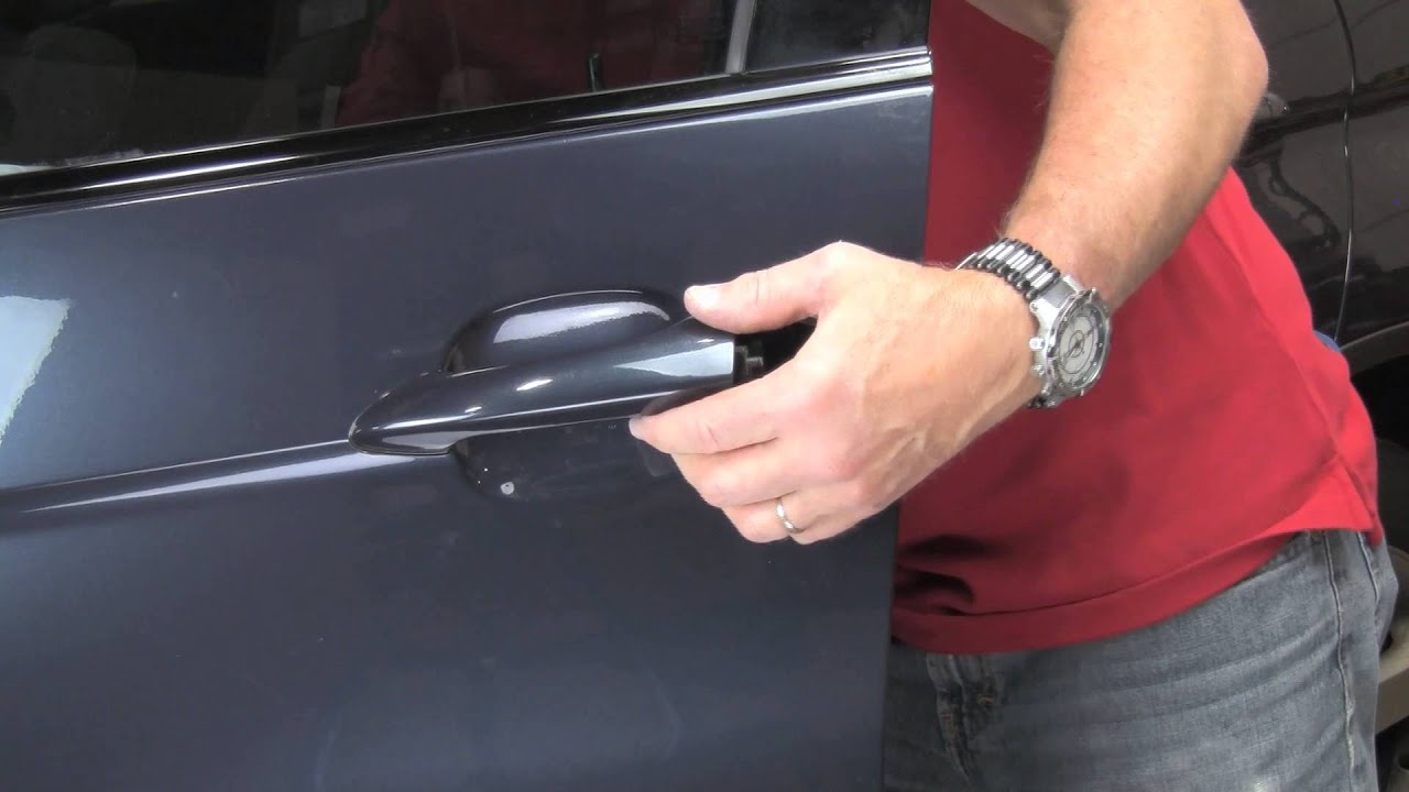 & Repairing door handles on a BMW X5 2000 thru 2006 - YouTube Pezcame.Com