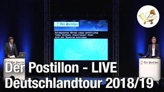 Der Postillon LIVE - der Trailer zur großen Deutschlandtour 2018/19!