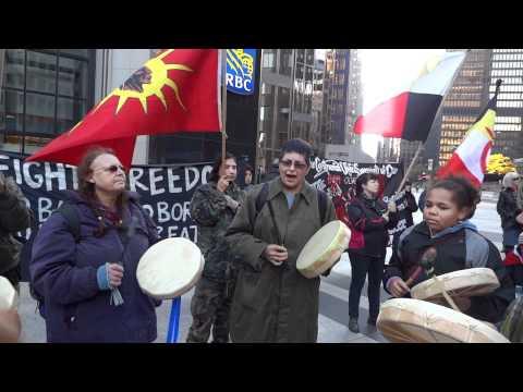 Occupy Tarsands - Honour Song