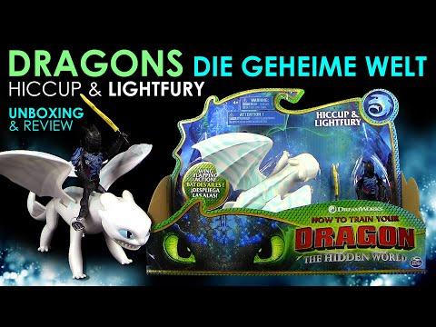 dragons-3---hidden-world---hicks-&-tagschatten-/-hiccup-&-lightfury-mit-streifen---unboxing-&-review