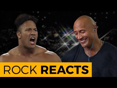 Thumbnail: The Rock Reacts to His First WWE Match: 20 YEARS OF THE ROCK