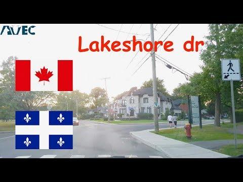 Beautiful Lakeshore Dr. Montreal, Canada