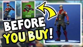Before you Buy CIPHER or CIRCUIT BREAKER - FORTNITE - First Impression Video! (Battle Royale)