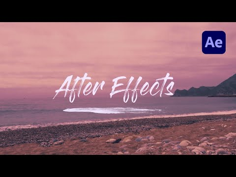 Write on Text Reveal Effect in Adobe After Effects - TUTORIAL thumbnail