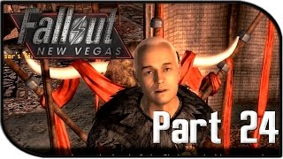 """Fallout: New Vegas Gameplay Part 24 - """"Meeting Caesar..."""" (Fallout 4 Hype Let's Play!)"""