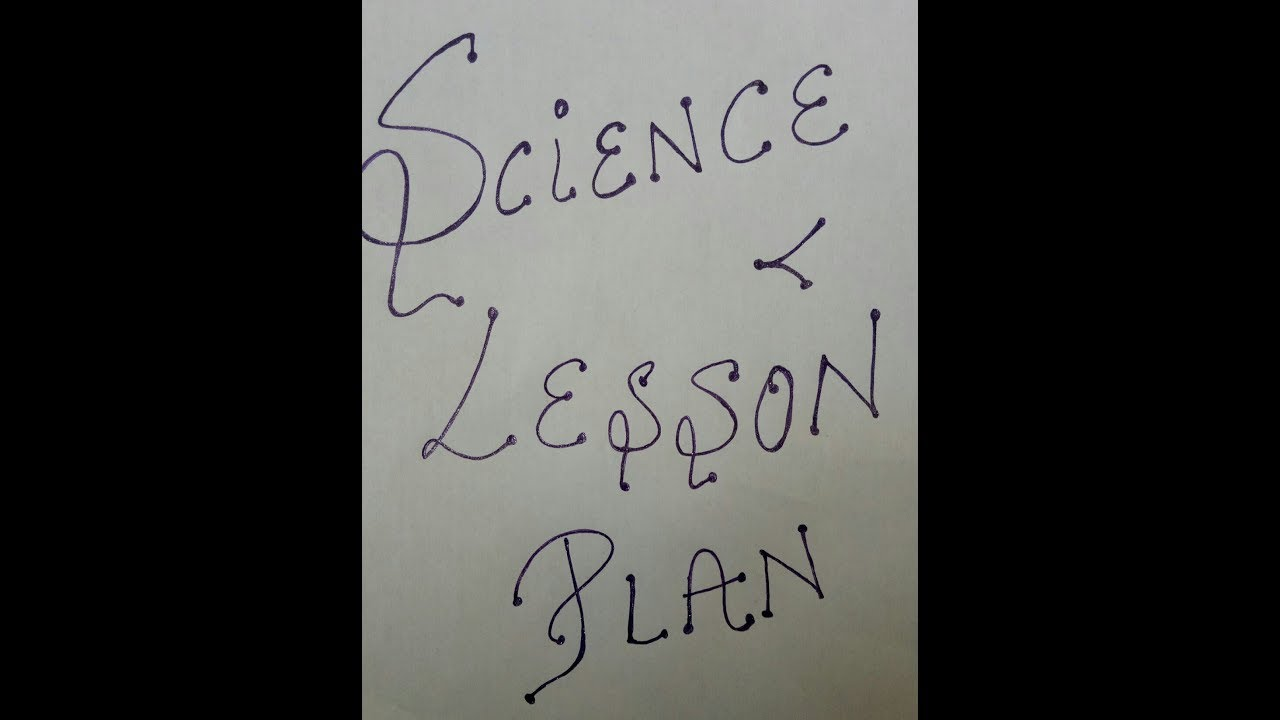 B ED LESSON PLAN NEW( science )