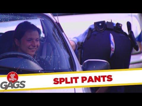 Officer split pants