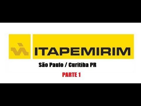 DETAIL MAP - SÃO PAULO / CURITIBA PR - ITAPEMIRIM - PARTE 1