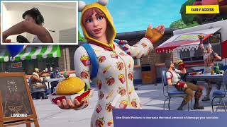 ASMR Fortnite with hot chips [part 1]
