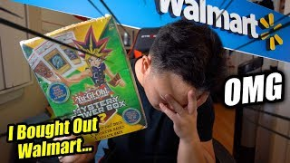 I Bought All The Yu-Gi-Oh! Packs in Walmart...