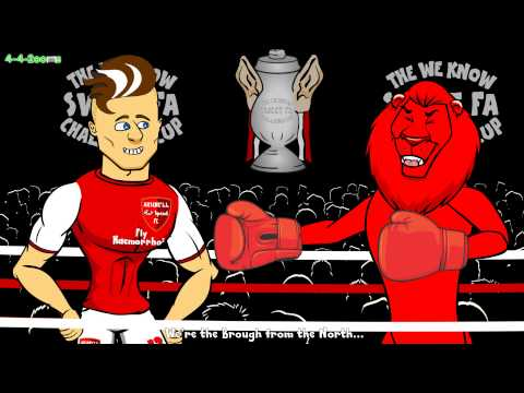 ☕️FA Cup Round 5 RAP BATTLE☕️ (Palace Liverpool Arsenal Middlesbrough Bayern Munich Hamburger)