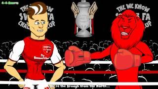 ☕️FA Cup Round 5 RAP BATTLE☕️ (Palace Liverpool Arsenal Middlesbrough Bayern Munich Hamburger)