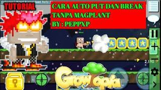 Cara AutoPUT dan AutoBreak/autoclick Tanpa Magplant | No Banned 100% | Growtopia Full Tutorial