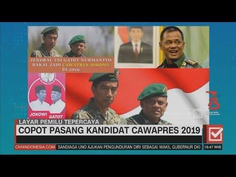 Copot Pasang Kandidat Cawapres Dalam Pilpres 2019