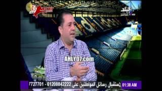مسخرة شاهد رئيس مجلة الزمالك حاول يتنطط على الأهلي فمسخره عمرو وعزت الزمالك الصغير