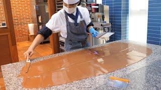 초콜릿 달인의 수제 초콜릿 만드는 과정, 장관상 받은 …