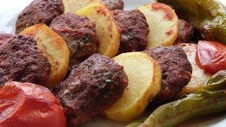 Oven Baked Meatballs Recipe | Turkish Meatballs in Oven