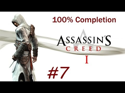 """Assassin's Creed 1"", HD walkthrough (100% + Subtitles), Memory Block 4 - Majd Addin (Jerusalem)"
