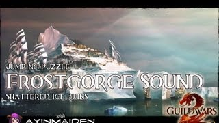 ★ Guild Wars 2 ★ - Jumping Puzzle - Frostgorge Sound (shattered Ice Ruins)