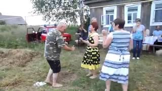 свадьба в деревне Деревенские пляски частушки  город курск