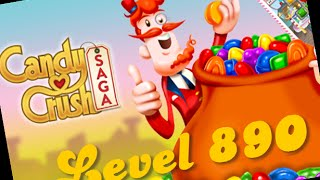 Candy Crush Level 890 - with booster - Highest Level