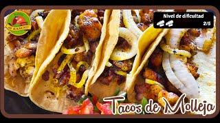 TortiRecetas | Tacos de Molleja