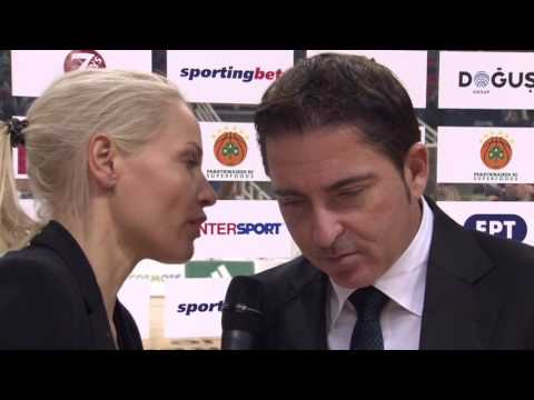 Post-game interview: Coach Pascual, Panathinaikos Superfoods Athens