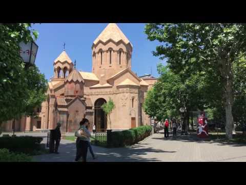 Yerevan 21.06.2017 Abovyan street