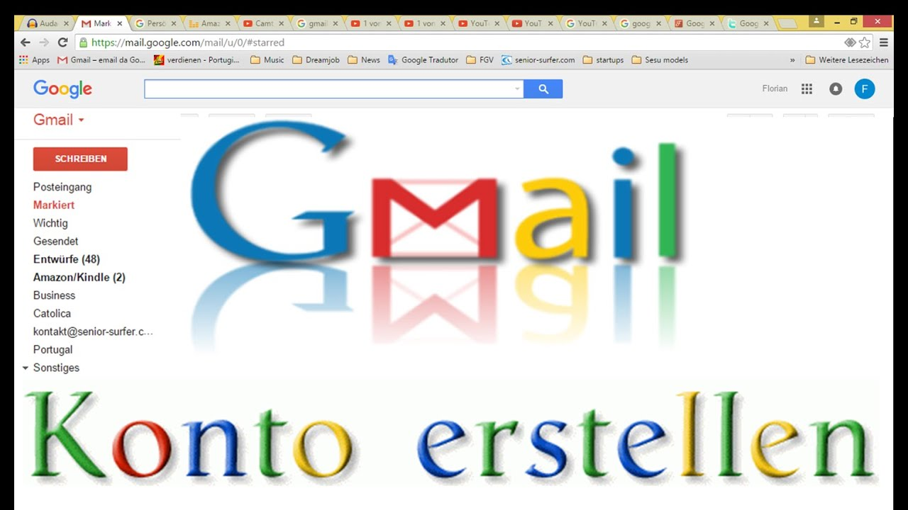 Zweites Gmail Konto Erstellen