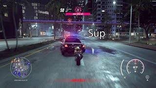Need For Speed Heat - Cops Are Scared Of Bikes For Some Reasons | BMW S1000RR Gameplay