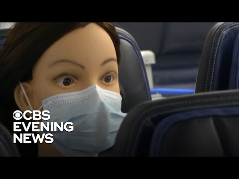 New research sheds light on COVID spread inside airplane cabins