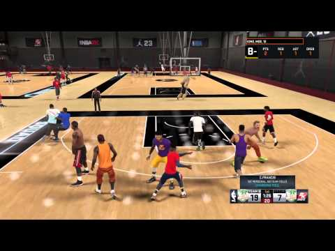 NBA 2K15 REC | PLAYING WITH ZACH FRESH YOUNG GOD 2K