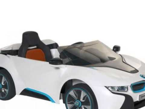 bmw i8 concept 6 v voiture lectrique jouet youtube. Black Bedroom Furniture Sets. Home Design Ideas