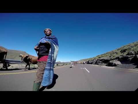 Passage through Lesotho