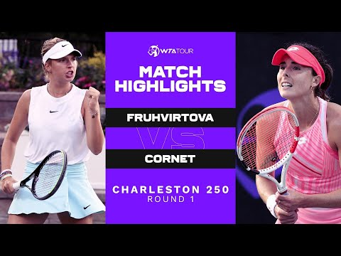 Linda Fruhvirtova vs. Alize Cornet | 2021 Charleston 250 Round 1 | WTA Match Highlights