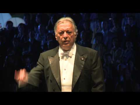 Zubin Mahta Israeli Orchestra performing Royal Anthem of Thailand