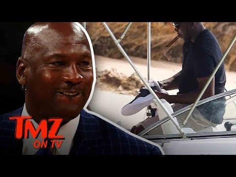Michael Jordan Has Super Secret Unreleased Jordan's!   TMZ TV