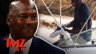 Michael Jordan Has Super Secret Unreleased Jordan's! | TMZ TV