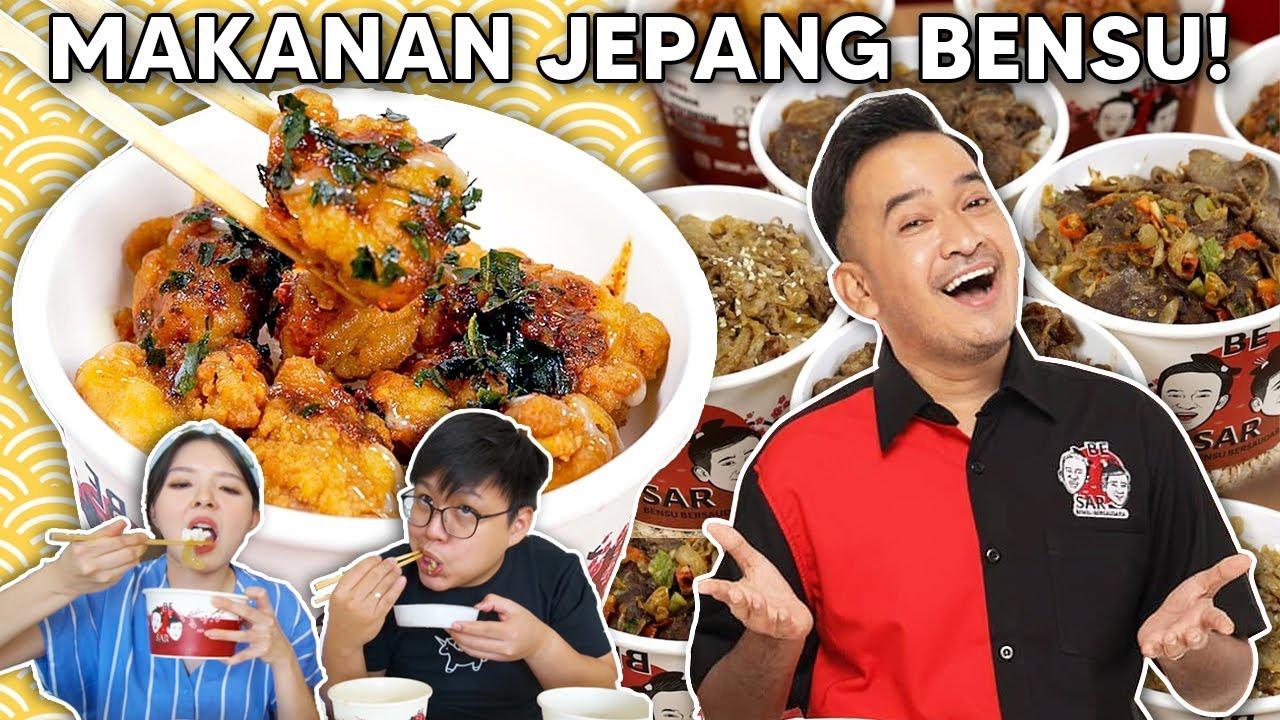 Download SUKSES! BENSU JUALAN MAKANAN JEPANG SUPER PEDAS !! LAYAK SAINGAN SAMA HOKBEN ??