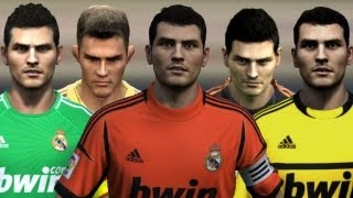 Casillas from FIFA 04 to 13 | HD 1080p