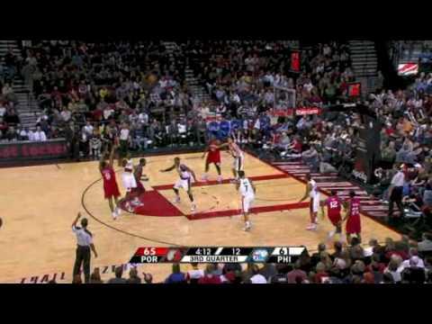 NBA Season 09-10 - Philadelphia 76ers @ Portland Trail Blazers 28-12-09