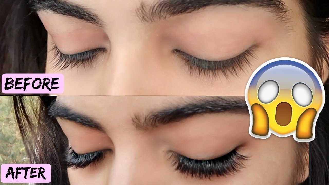 I GOT EYELASH EXTENSIONS|| KRITIKA KHURANA - YouTube