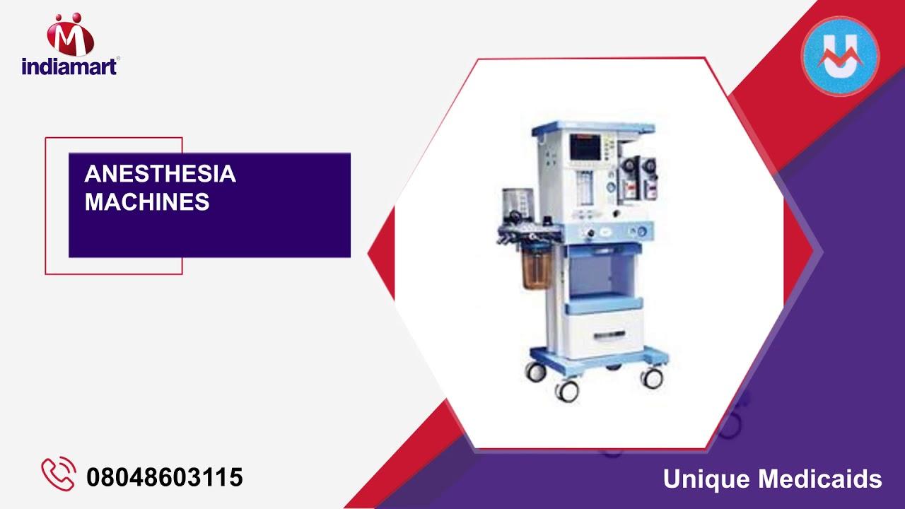 Anesthesia & ECG Machines Distributor / Channel Partner