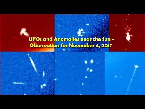 nouvel ordre mondial | UFOs and Anomalies near the Sun - Observation for November 4, 2017