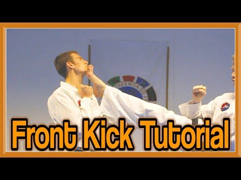Taekwondo Front Snap Kick Tutorial | GNT How to