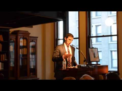 PG Sittenfeld Introduces Curtis Sittenfeld at The Mercantile Library