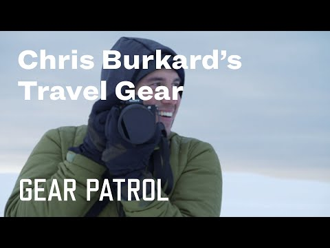 Adventure Photographer Chris Burkard's Essential Travel Gear