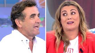 Antonio Montero humilla a Carlota Corredera y ridiculiza el relato de Rocío Carrasco y Fidel Albiac