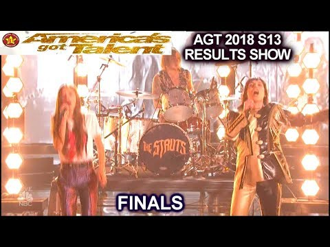 The Struts And Courtney Hadwin Perform Piece Of My Heart | Finale America's Got Talent AGT