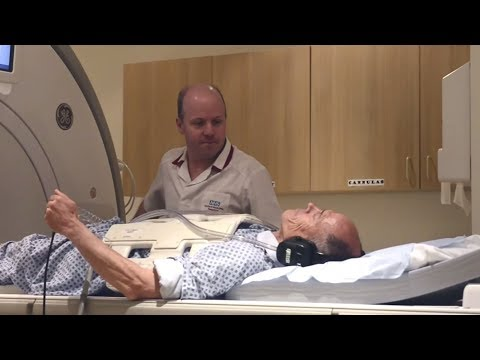 What is it like having an MRI Scan? - Going into hospital for an MRI scan